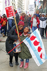 The Beauty of a Family Who Believes in Something (kirstiecat) Tags: huelgo strike chicago socialjustice ctu chicagoteachers teachers chicagoteachersunion chicagopublicschools rally protest america lorilightfoot activism people kids children schools education publiceducation humanrights thisiswhatdemocracylookslike theteachersunitedwillneverbedivided democracy ourstreets ourschools