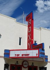 ID, Cascade-ID 55 Roxy Theater Marquee & Neon Sign
