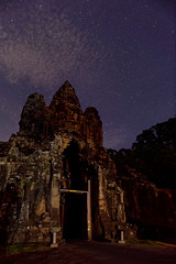 Clouds and stars (unsharptooth) Tags: angkorsouthgate angkorarchaeologicalpark siemreap cambodia astrophotography stars clouds landscape landscapephotography ancientruins gate ngc