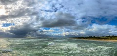 Seaford (Thunder1203) Tags: djiglobal frankston iphone11pro portphillipbay topazlabs choppysea djiaustralia djiosmomobile iphonography mobilephonephotography seascape skylum sea sky wintery waves beach victoria australia port phillip bay