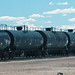 Tank cars at Sinclair Refinery (Sinclair, Wyoming, USA)