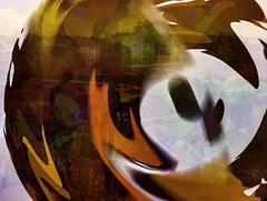 Autumn Has Arrived (soniaadammurray - On & Off) Tags: digitalart art myart visualart experimentalart abstractart contemporaryart autumn seasons colours shadows reflections exterior look beauty appreciate nature artchallenge spotlightyourbestgroup collaboration barbarastanzak picmonkey photoshop