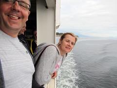 Polish invasion.. on the ferry.. in Nanaimo.. (iwona_kellie) Tags: ewa ula marek visit polish invasion britishcolumbia ferry ride nanaimo vancouver friends family summer august 2019