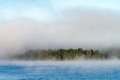 15_DSC8833 (doug.metcalfe1) Tags: 2019 algonquinprovincialpark dougmetcalfe fall island nature ontario opeongolake outdoor provincialpark fog mist