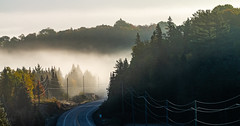 6_DSC8817 (doug.metcalfe1) Tags: 2019 algonquinprovincialpark dougmetcalfe fall hyw60 nature ontario outdoor provincialpark fog mist