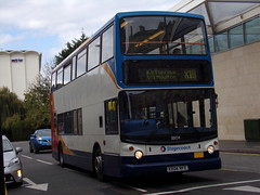 Stagecoach TransBus Trident (TransBus ALX400) 18104 KX04 RFE (Alex S. Transport Photography) Tags: bus outdoor road vehicle stagecoach stagecoachmidlandred stagecoachmidlands alx400 alexanderalx400 dennistrident trident transbustrident transbusalx400 routex10 18104 kx04rfe