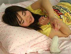 More Than Just A Cutiebun (emotiroi auranaut) Tags: girl dreaming resting bunny rabbit teenager sweet cute adorable
