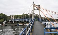 Photo of The Western Suspension Footbridge. Teddington