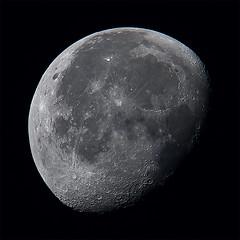 Moon 2019-10-18 (nicklucas2) Tags: astrophotography moon moon2019 moonoct2019