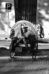 Waiting (Bury Gardener) Tags: barcelona spain europe 2019 catalonia streetphotography street streetcandids snaps strangers candid candids people peoplewatching folks fujixt3 fuji fujifilm bw blackandwhite monochrome mono