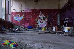 Lost Boa (Panasonikon) Tags: panasonikon sonya6000 canon1018 fabrik graffiti lostplaces verfall industrie industry ruine niedergang gespenst