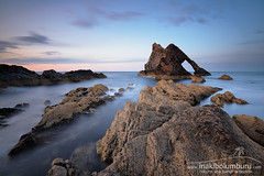 BOW FIDDLE ROCK (Obikani) Tags: scotland portknockie rock landscape nature sunrise water sea moray shore coast bowfiddlerock scenery natural sky outdoors rocky seascape ocean scenic cliff europe outdoor picturesque coastline fiddle uk bow arch coastal clouds formation scottish morayfirth weather banffshire stone quartziterocks northsea tourist tourism sunlight destination rockformations redsunrise scottishlandscape beach travel geological bowfiddle