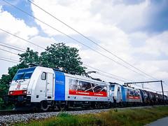 DB Cargo 186 256 & 186 498 met VTG/GATX ketels @ Kermt (Avinash Chotkan) Tags:
