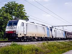 LINΞΛS 186 448 & 186 446 met Gremberg-Shuttle @ Kermt (Avinash Chotkan) Tags: