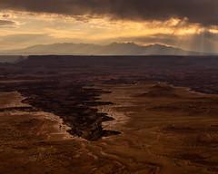 Canyonlands National Park       Buck Canyon Overlook (JB_1984) Tags: canyon view vista sky clouds mood overlook viewpoint geologicalformation nationalpark buckcanyon buckcanyonoverlook islandintheskydistrict canyonlandsnationalpark canyonlands moab utah ut unitedstates usa nikon d500 nikond500