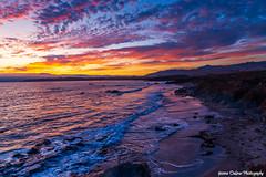 California Coast Sunset (Yvonne Oelsner Photography) Tags: sunset vivid outside sky clouds ocean highway1 atmosphere color coast roadtrip sansimeon california romantic dusk landscape seascape