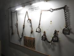 Beaumaris Gaol, Bunker's Hill, Beaumaris 8 October 2019 (Cold War Warrior) Tags: beaumaris anglesey gaol prison shackles restraints