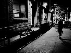 New York City revisited (Lucas Harmsen) Tags: blackandwhite newyork btw 42ndstreet manhatten usa america unitedstates newyorkcity streetphotography citylife new york revisited