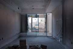 when.you.were.here.before (jonathancastellino) Tags: abstract architecture series toronto composite interferencepatterns leica q condo construction room view window pipe wire