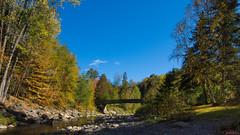 Automne, autumn - Parc des Sept-Chutes, Beauce, PQ, Canada - 4727 (rivai56) Tags: passerelle automne autumn parcdesseptchutes beauce pq canada saintgeorges rivière ruisseau parc park