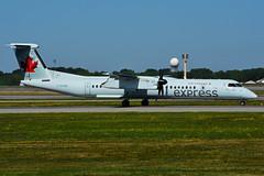 C-GGNW (Air Canada express - JAZZ) (Steelhead 2010) Tags: aircanada aircanadaexpress yul creg bombardier dhc8 dhc8q400 cggnw