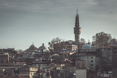 Fire watchers (Through_Urizen) Tags: category citiestowns halic istanbul places turkey canon1585mm canon70d canon outdoor architecturephotography travelphotography skyline city cityscape buildings houses tower firetower beyazit