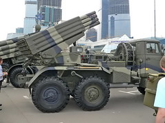 "BM-21 Grad on URAL 4320 5 • <a style=""font-size:0.8em;"" href=""http://www.flickr.com/photos/81723459@N04/48917941427/"" target=""_blank"">View on Flickr</a>"