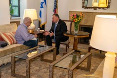 Secretary Pompeo Speaks With Zev Chafets (U.S. Department of State) Tags: mikepompeo jerusalem