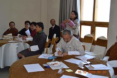 Training with Bhutan's Education Minister, Ministers, MPs and Parliamentarians (4)