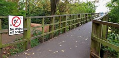 Photo of Walkway To Teddington Lock Footbridges