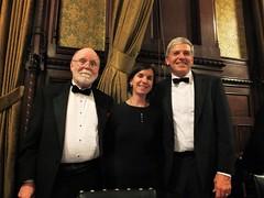 Russell Merritt, Celine Ruivo & Robert Byrne (photo by Karen Merritt)
