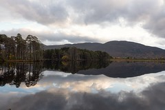 This world is a perverted reflection of the spiritual world! (Gouranga Photo's) Tags: leicam10 scotland lochmallachie aviemore reflections leica water scottishhills