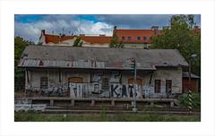 Dejvice Station (prendergasttony) Tags: station art nikon d7200 tonyprendergast elements prague europe railways transport track old history historical outdoors dejvice praha ceska