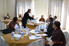Training with Bhutan's Education Minister, Ministers, MPs and Parliamentarians (3)