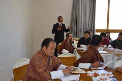 Training with Bhutan's Education Minister, Ministers, MPs and Parliamentarians (7)