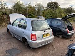 Micra SE (Sam Tait) Tags: nissan micra march petrol 16v scrap scrapyard spares repairs junk junkyard k11 se 13 1300 2002 80bhp
