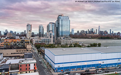 Brooklyn and Lower Manhattan View from 25 Kent (20191017-DSC06069-Edit) (Michael.Lee.Pics.NYC) Tags: newyork ohny 25kent brooklyn williamsburg eastriver aerial architecture cityscape wtc worldtradecenter lowermanhattan sunset dusk sony a7rm4 fe24105mmf4g wiliamsburgbridge