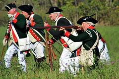DEFENDING THE VALLEY (MIKECNY) Tags: troops uniform musket rifle shoot americanrevolution schoharie schoharievalley reenactor reenactment