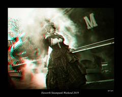 007 Haworth Steampunk 19 sepia (3dbeadyeyes2) Tags: haworth steampunk weekend 2019 howarthsteampunkweekend2019 3d anaglyph