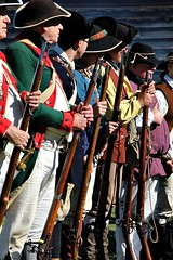 AT THE READY (MIKECNY) Tags: troops colonists militia rifle musket schoharie schoharievalley americanrevolution