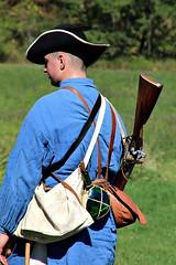 COLONIAL SOLDIER (MIKECNY) Tags: colonist militia soldier rifle musket schoharie schoharievalley reenactor americanrevolution