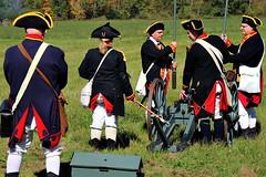 ARTILLERY UNIT (MIKECNY) Tags: artillery cannon uniform american troops colonists schoharie schoharievalley americanrevolution reenactment reenactor