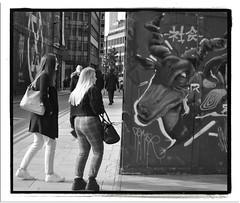 ANTELOPE and the INTERLOPERS. (StockCarPete) Tags: bw streetart londonstreetart shoreditch shoreditchart london uk londonstreets reves1
