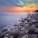 Greece Epirus sunset