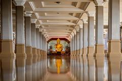 Buddha in Reflection, Wat Tha Sung, Uthai Thani (hathaway_m) Tags: project365 2019 uthai thani buddha reflection wat tha sung