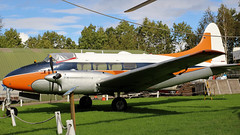 G-ANUW DH DOVE (toowoomba surfer) Tags: aircraft aviation aeroplane museum airmuseum aviationmuseum dehavilland