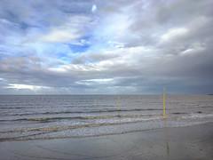 After the rain (Cat Thackstone) Tags: sand channel rain storm beach seascape seaside sea