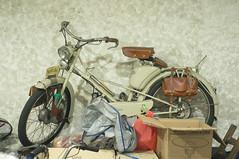 Mobylette (kuuan) Tags: mf manualfocus penf zuiko penff1440mm 1440mm apsc sonynex5n vietnam saigon vintage motorcycle mobylette french
