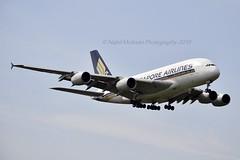 Singapore Airlines 9V-SKM Airbus A380-841 cn/065 @ EGLL / LHR 15-05-2019 (Nabil Molinari Photography) Tags: singapore airlines 9vskm airbus a380841 cn065 egll lhr 15052019