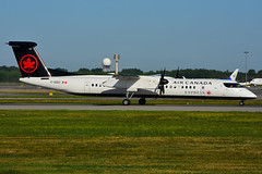 C-GGCI (Air Canada EXPRESS - JAZZ) (Steelhead 2010) Tags: aircanada aircanadaexpress yul creg bombardier dhc8 dhc8q400